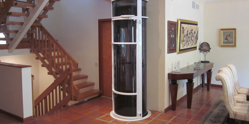 Vision 350 elevator pneumatic glass small home elevators for Small elevator for home price