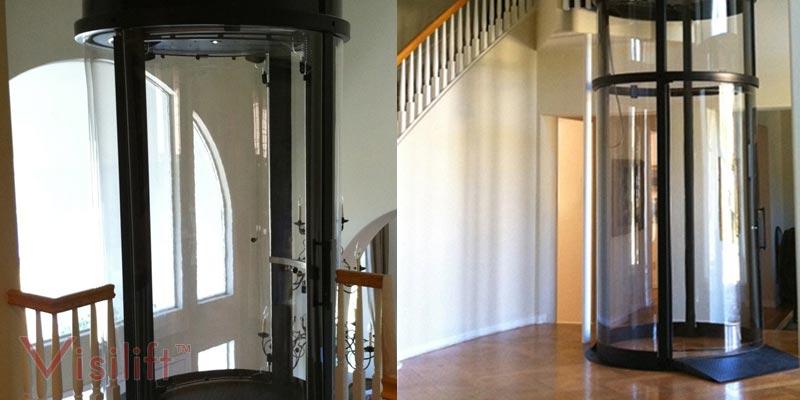 Visilift Round Elevator Glass Cable Elevators Visi 58r